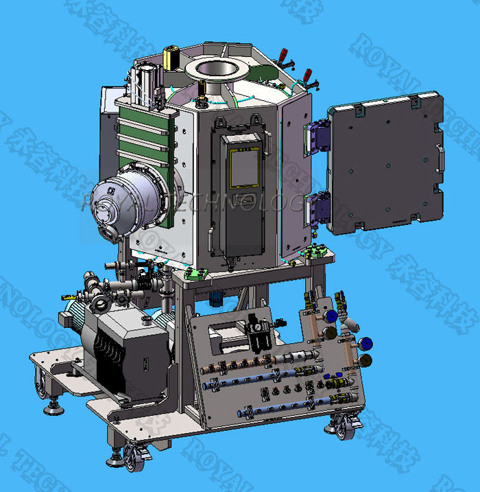 ITO Glass Magnetron Sputtering Coating Machine ,  Ag / SiO Layer For Eletronic Display