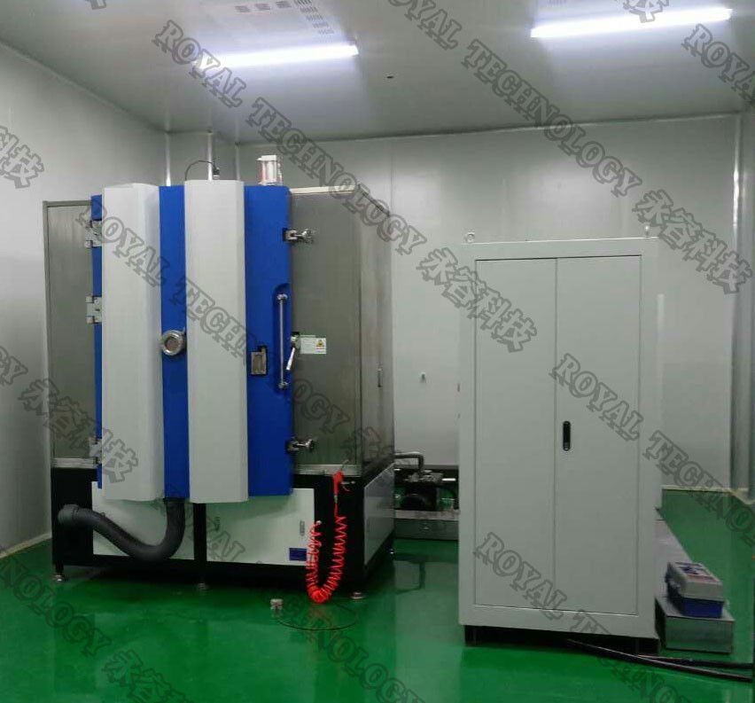 Pvd Titanium Nitride Coating Machine , Vacuum Flask Magnetron Sputtering System
