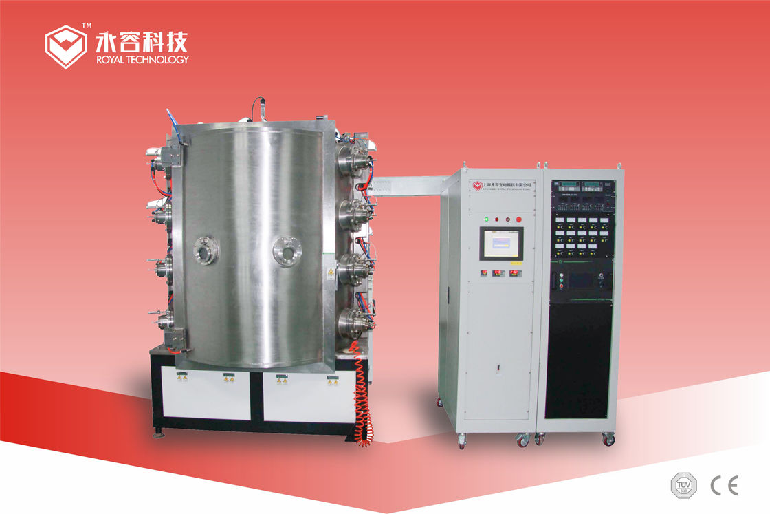 Stainless Steel  TiN Gold Vacuum Plating  Machine ,  PVD Gold Coating Equipment For Kitchenware