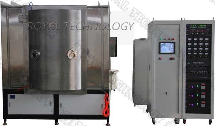 Black Vacuum Flask PVD Coating Equipment , PVD Multi Arc Decoration Plating Machine