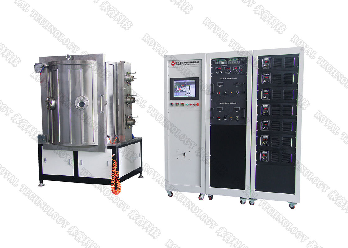 Stainless Steel Tweezer / Scissors Pvd Ion Plating System,  Steered Arc Cathode droplet free coating machine